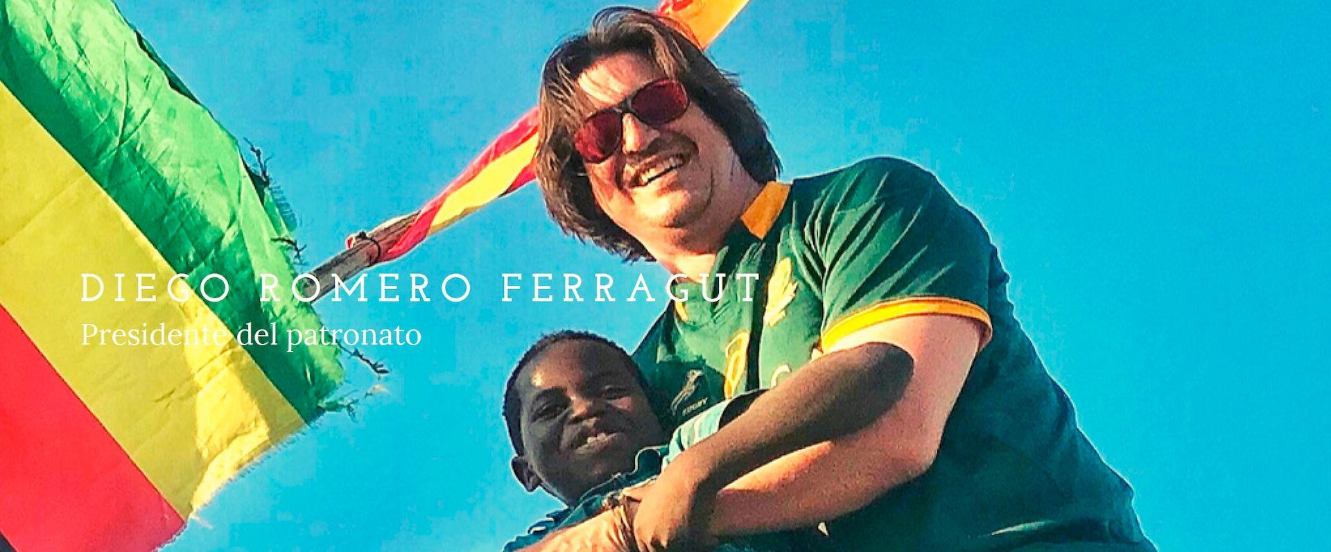 Diego Romero Ferragut presidente Smile is a Foundation