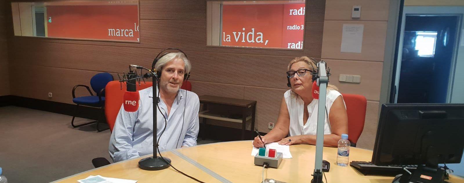 Entrevista a Miguel Megías en el programa 'África Hoy' de RNE