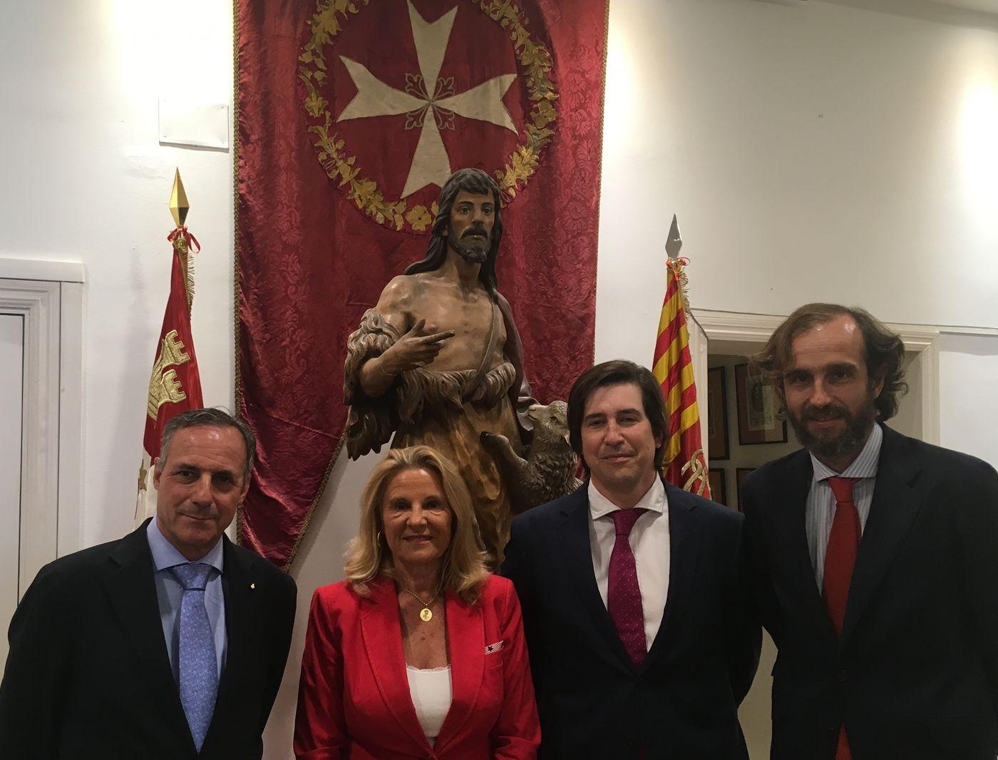 Smile is a Foundation firma un acuerdo marco de colaboración con La Orden de Malta