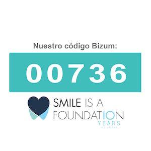 Donar por Bizum Proyectos de futuro smile is a foundation